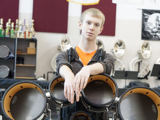 WHS Student Selected for National Competitive Drum Tour